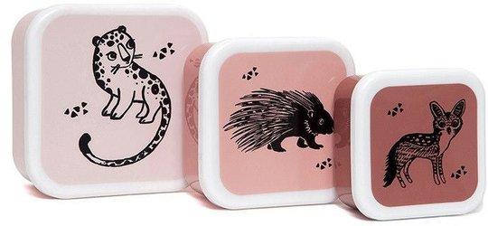 Petit Monkey Matboks Animals 3-pack