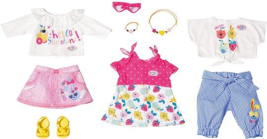 Baby Born Dukkeklær Holiday Fashion Spring, 43 cm