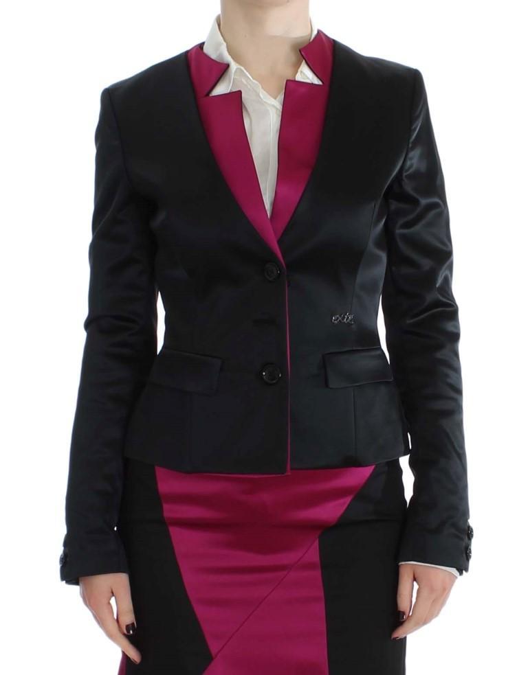 Exte Women's Stretch Blazer Black SIG32484 - IT40|S
