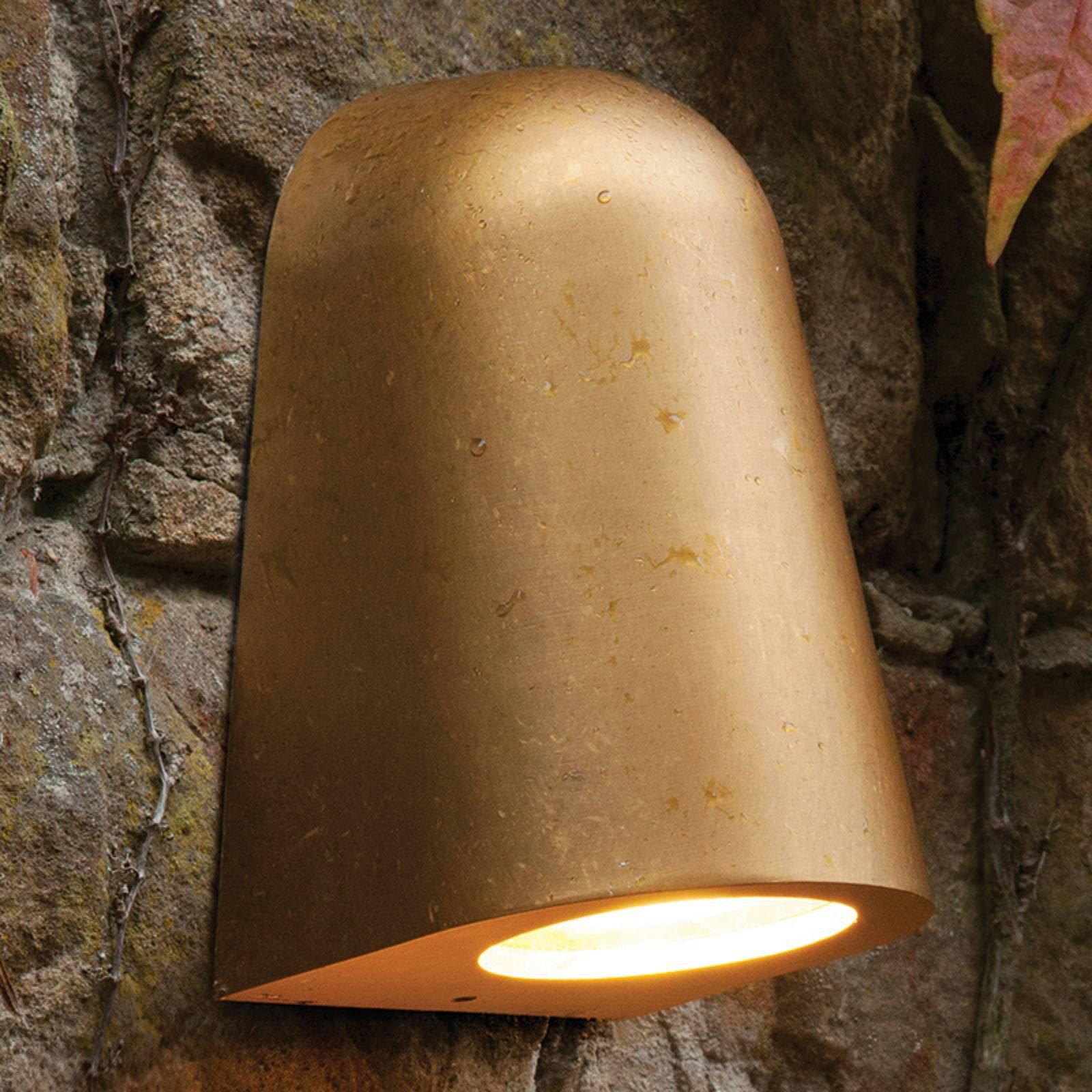 Saltvannsresistent utendørs vegglampe Mast Light