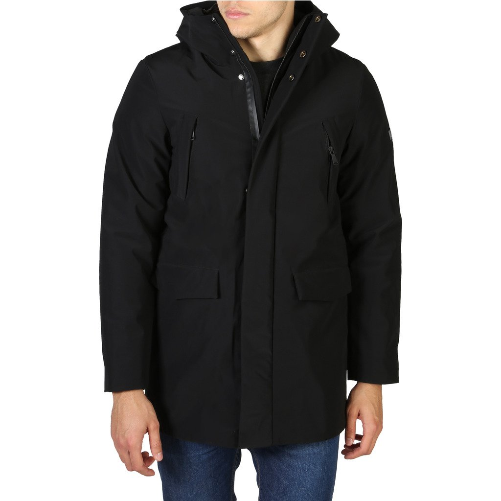 Yes Zee Men's Jacket Black 0614_O812_M300 - black S