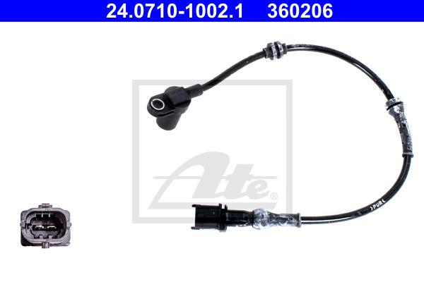 ABS-anturi ATE 24.0710-1002.1