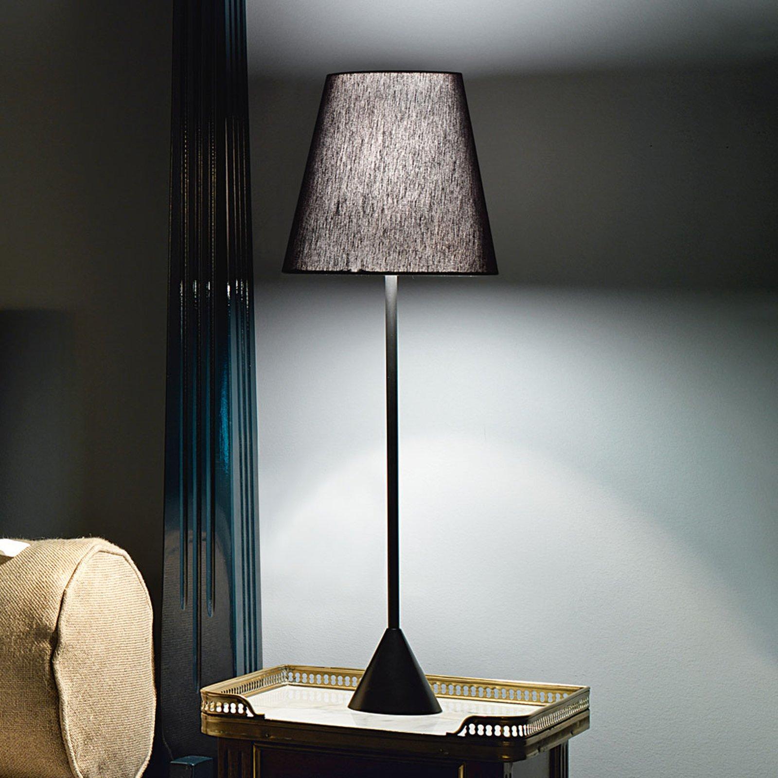 Modo Luce Lucilla bordlampe Ø 24 cm svart