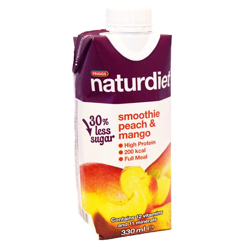 Naturdiet Smoothie Persikka Mango - 40% alennus