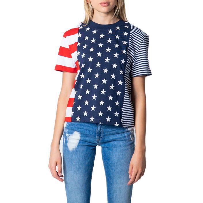 Tommy Hilfiger Women's T-Shirt Multicolor 175384 - multicolor XXS