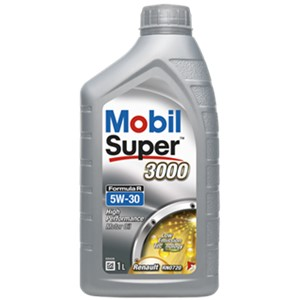 Mobil Super 3000 Formula R 5W-30, Universal