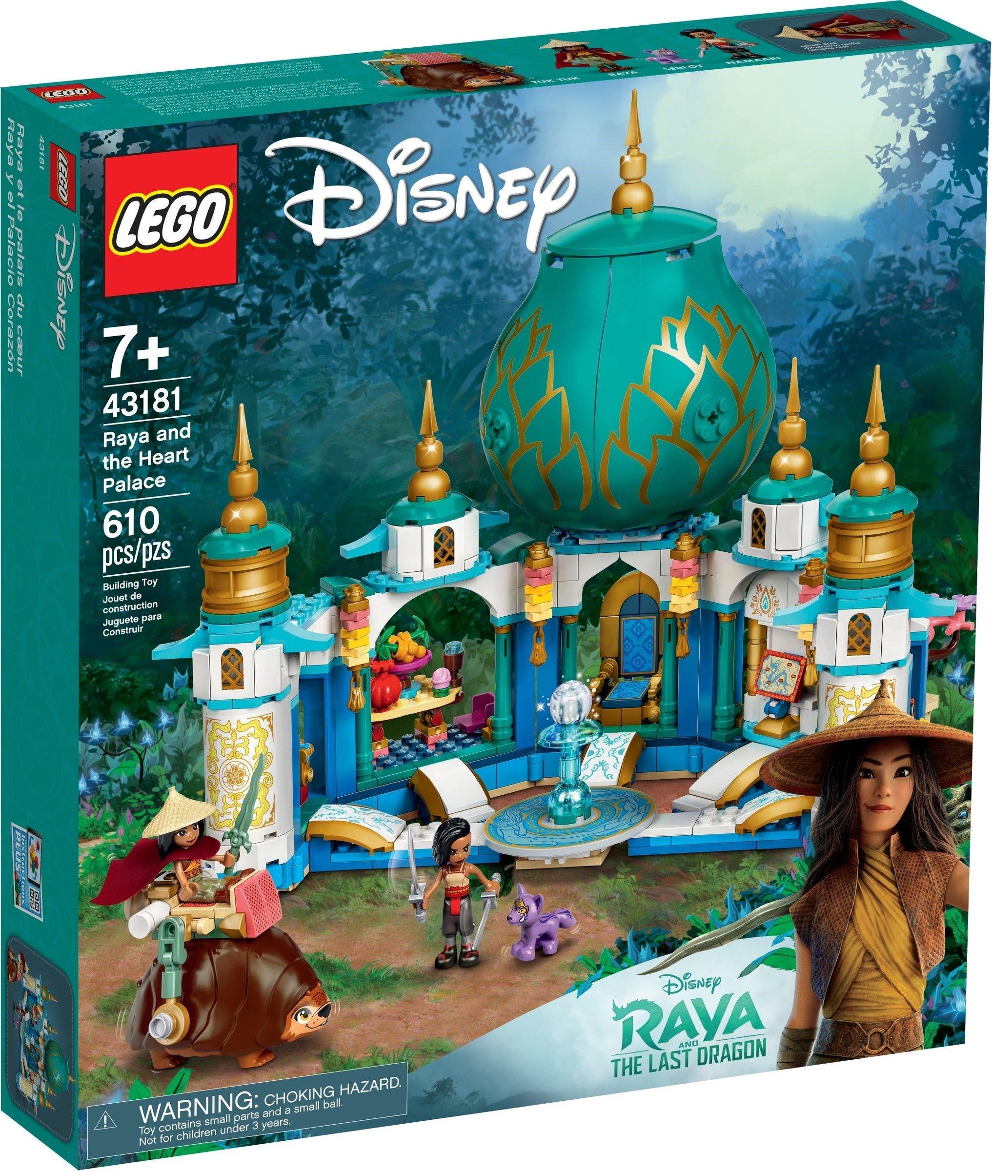 LEGO Disney Princess - Raya and the Heart Palace (43181)