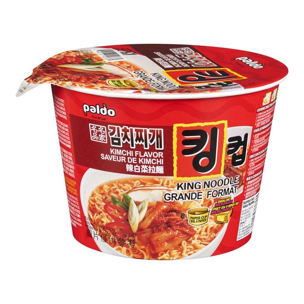 Paldo Kimchi Flavor Noodles Bowl 110g