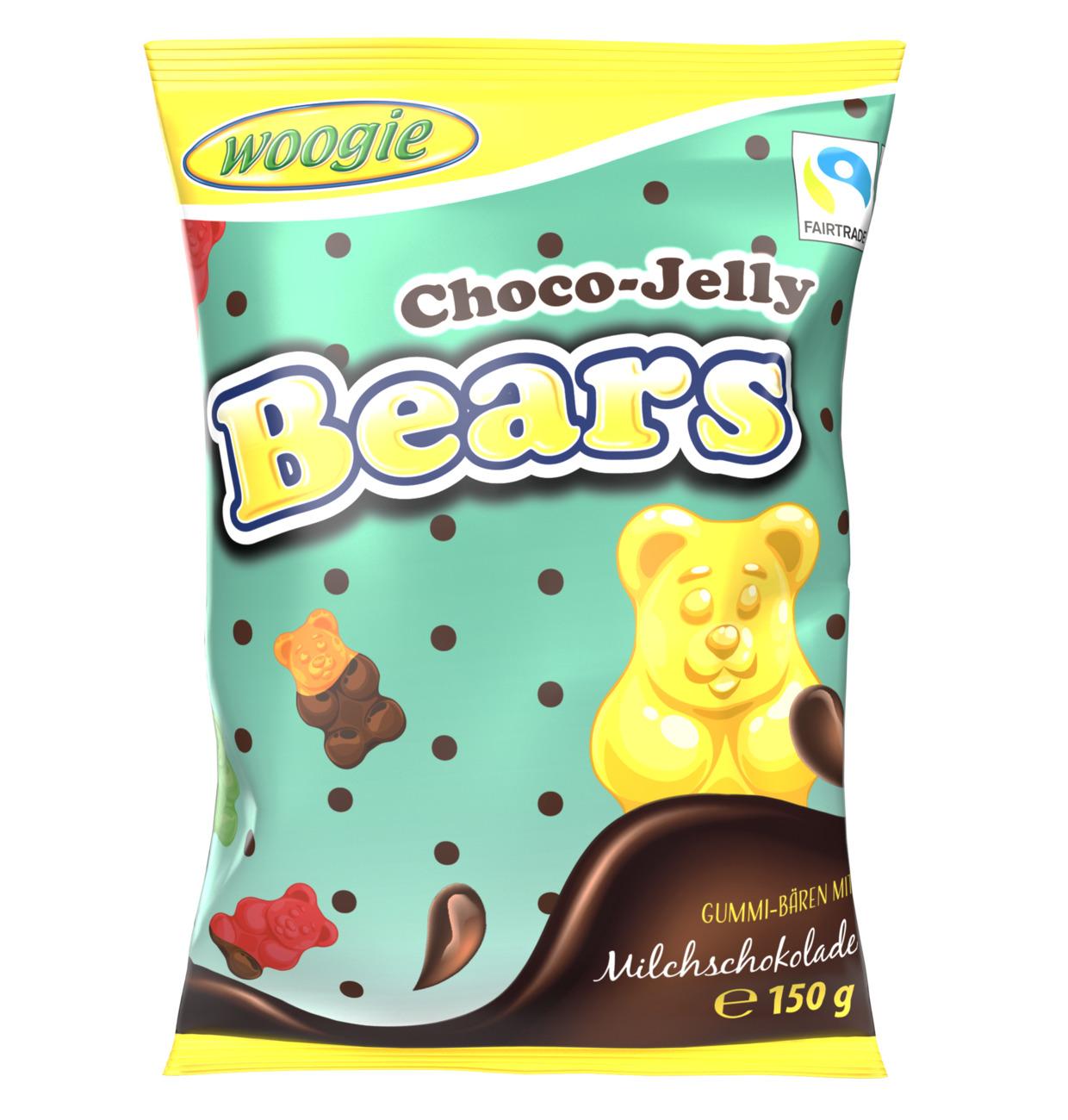 Woogie Choco Jelly Bears 150g