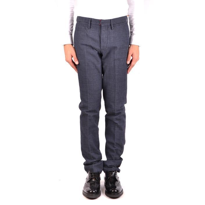 Incotex Men's Trouser Black 163591 - black 46