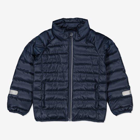 Lett, vannavvisende jakke mørkblå