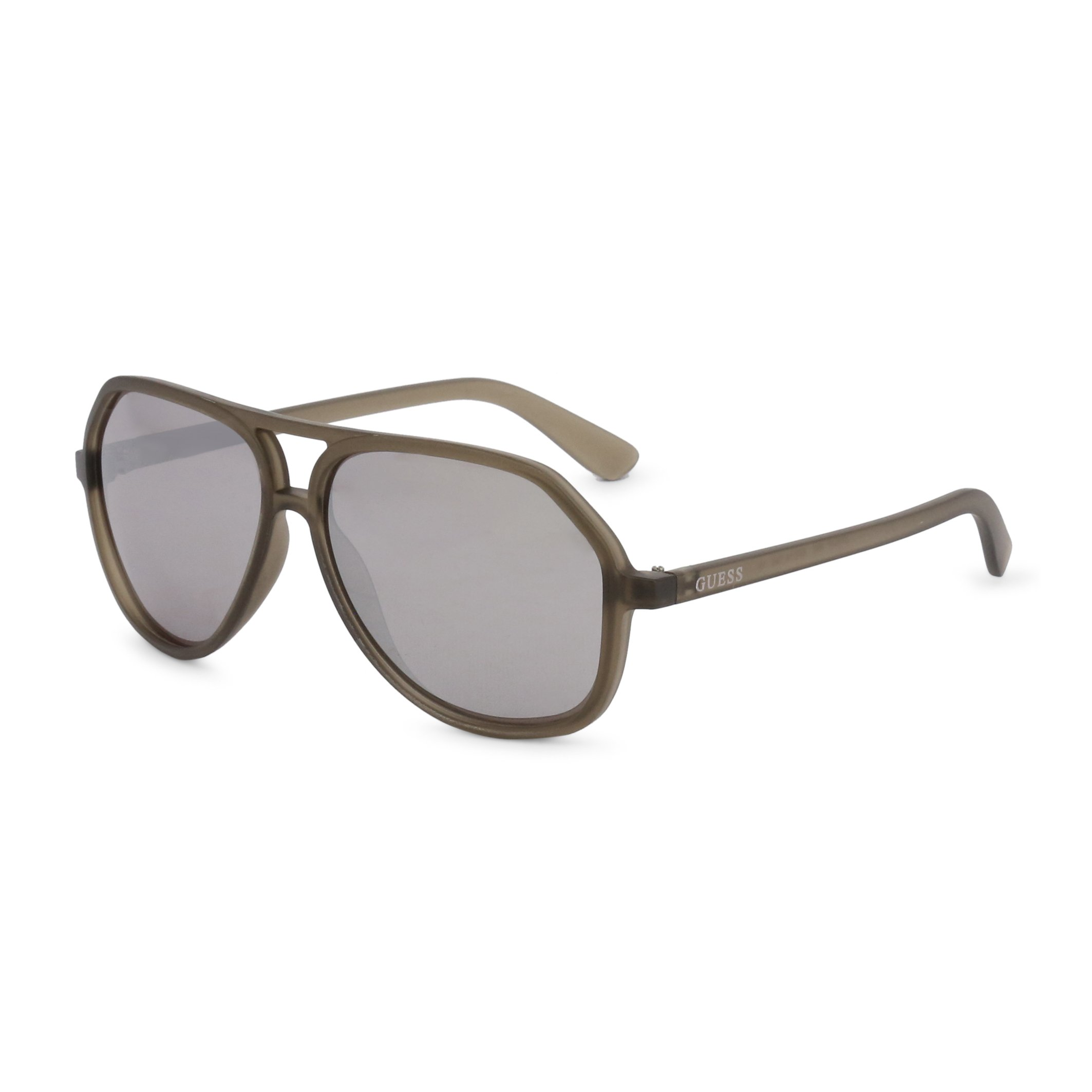 Guess Unisex Sunglasses Brown GF0217 - brown-1 NOSIZE