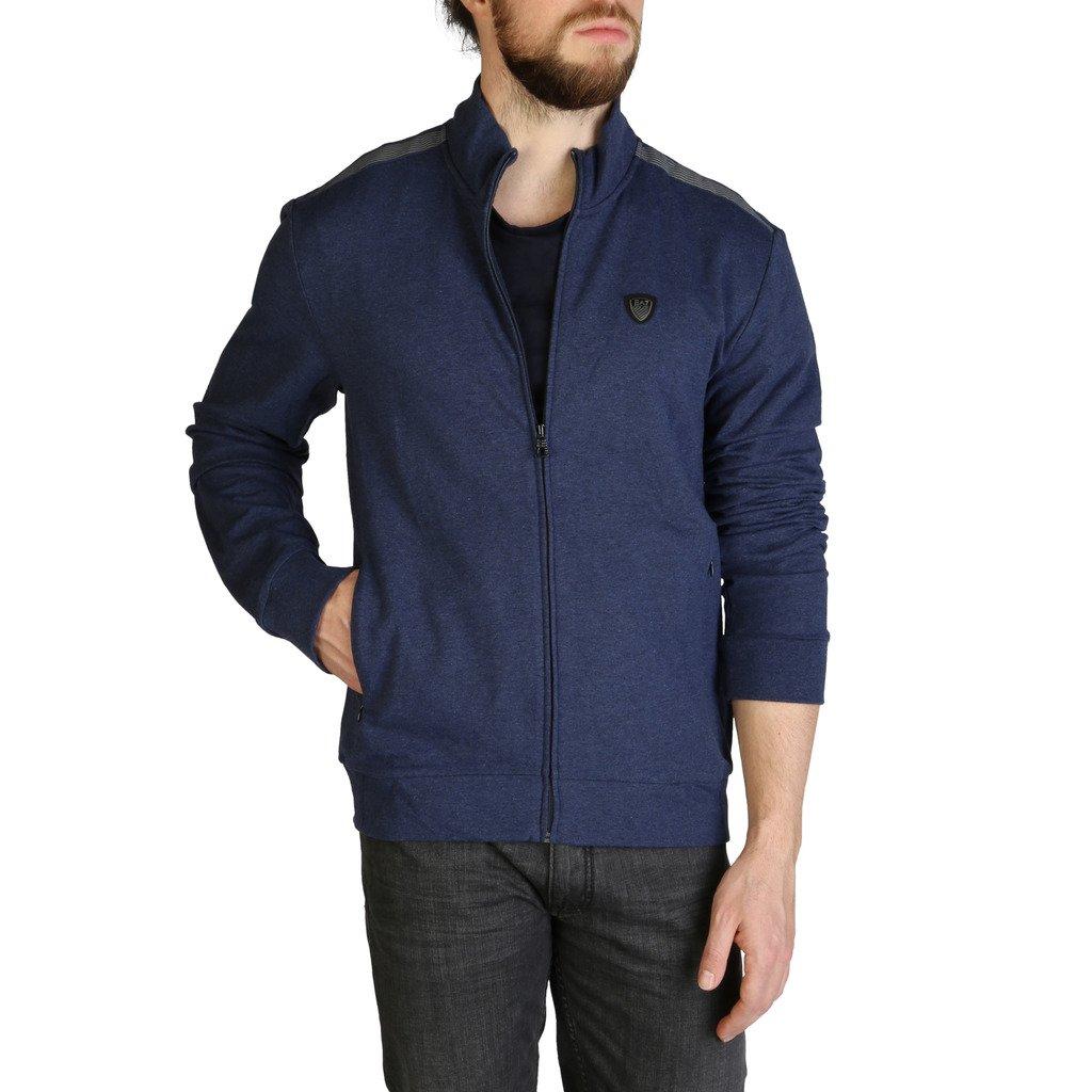 EA7 Men's Sweatshirt Blue 3ZPM73_PJ19Z - blue M