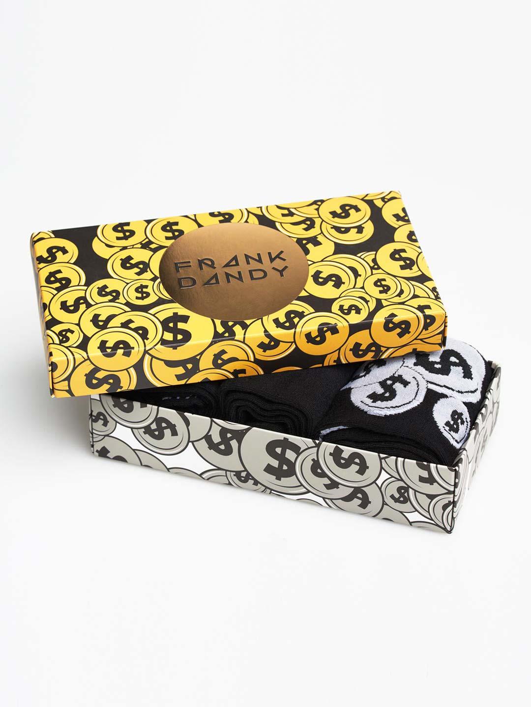 Frank Dandy 3-Pack Bamboo 80 Sock Box