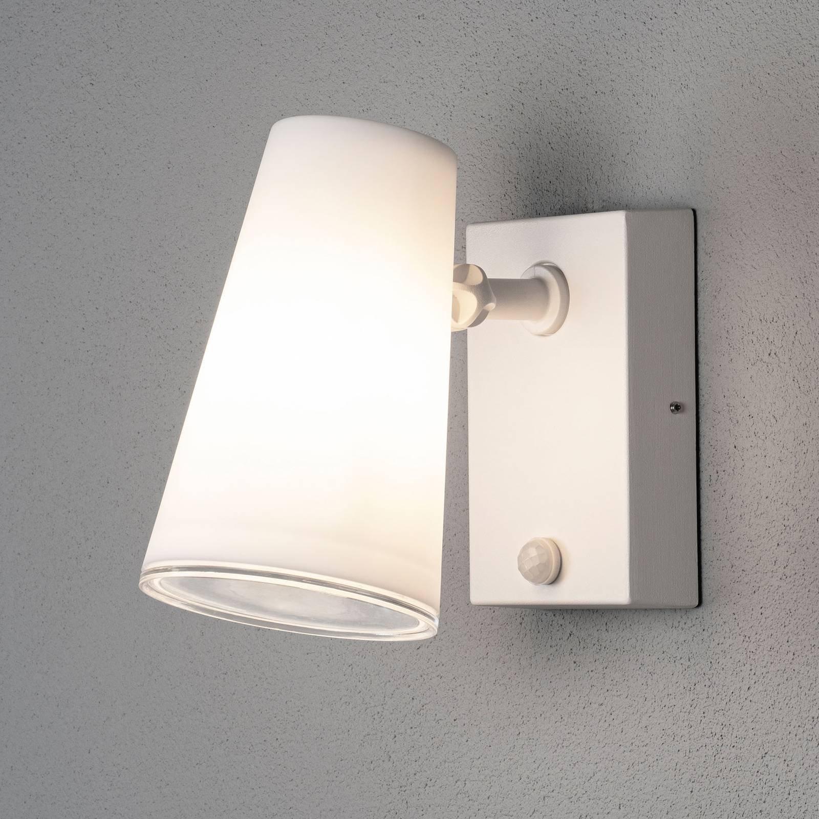 Fano utendørs LED-veggspot med bevegelsessensor