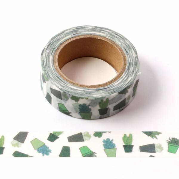 Cactus Pots Washi Tape