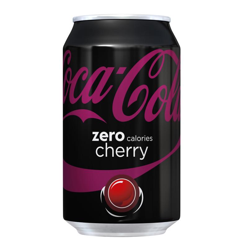 """Coca Cola """"Zero Cherry"""" 330ml - 22% rabatt"""