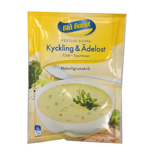 Kyckling & Ädelost soppa - 22% rabatt