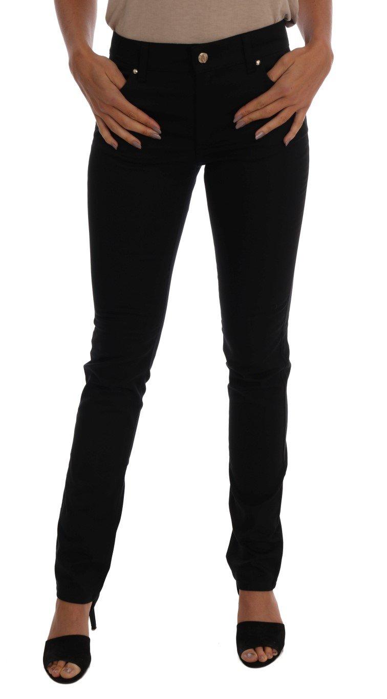 Versace Jeans Women's Slim Jeans Black SIG60471 - W28