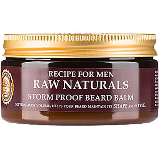 Raw Naturals Storm Proof Beard Balm, 100 ml Raw Naturals by Recipe for Men Partaöljy ja partavaha