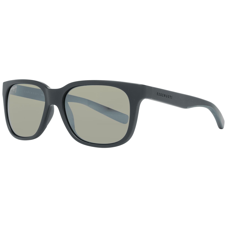 Serengeti Men's Sunglasses Black 8678