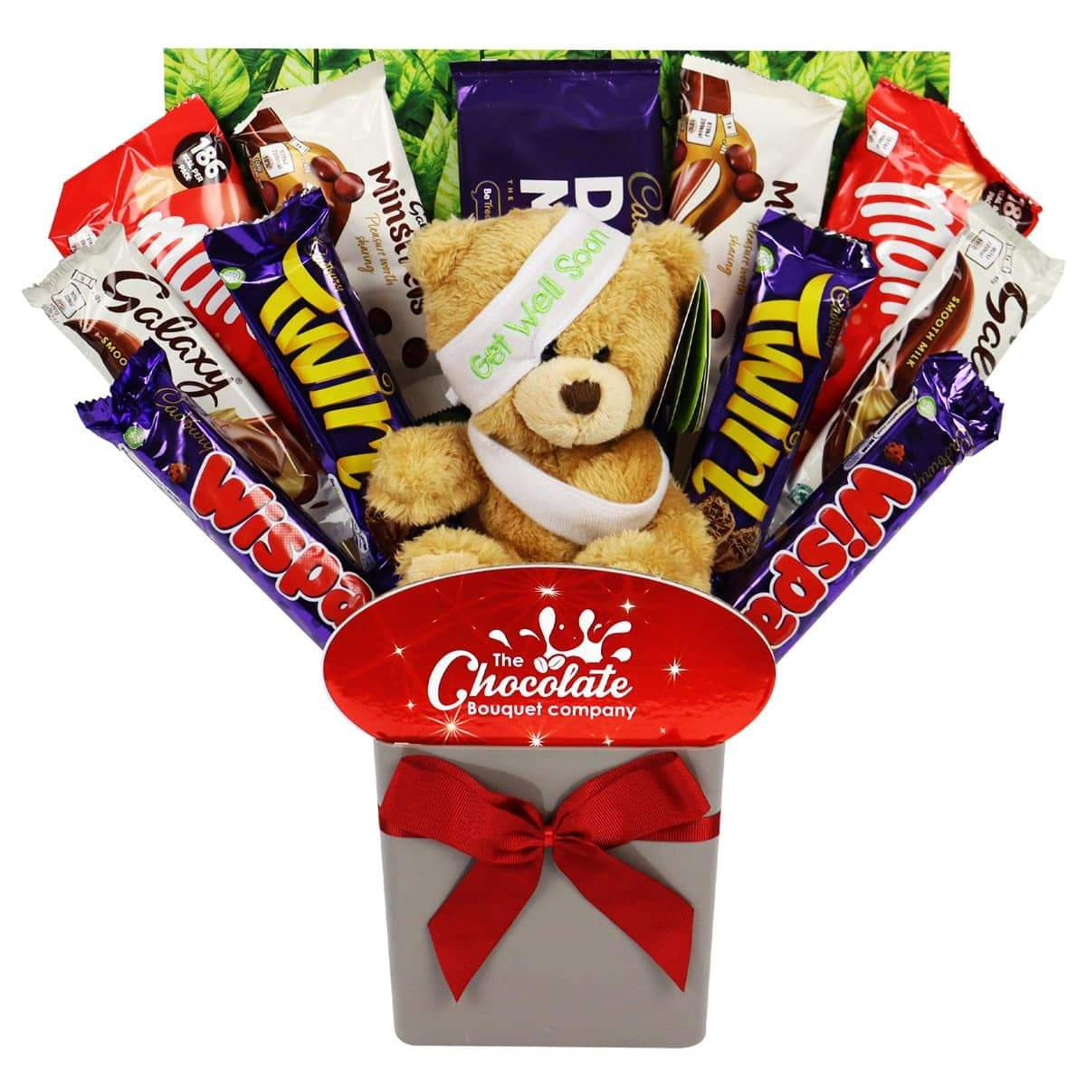 The 'Get Well Soon' Teddy Bouquet