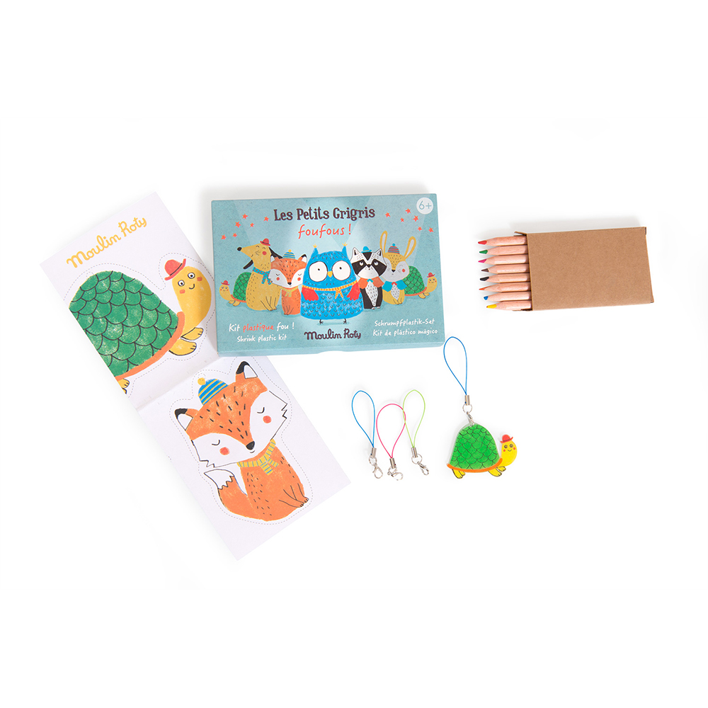 Moulin Roty - Shrink plastic kit (711255)