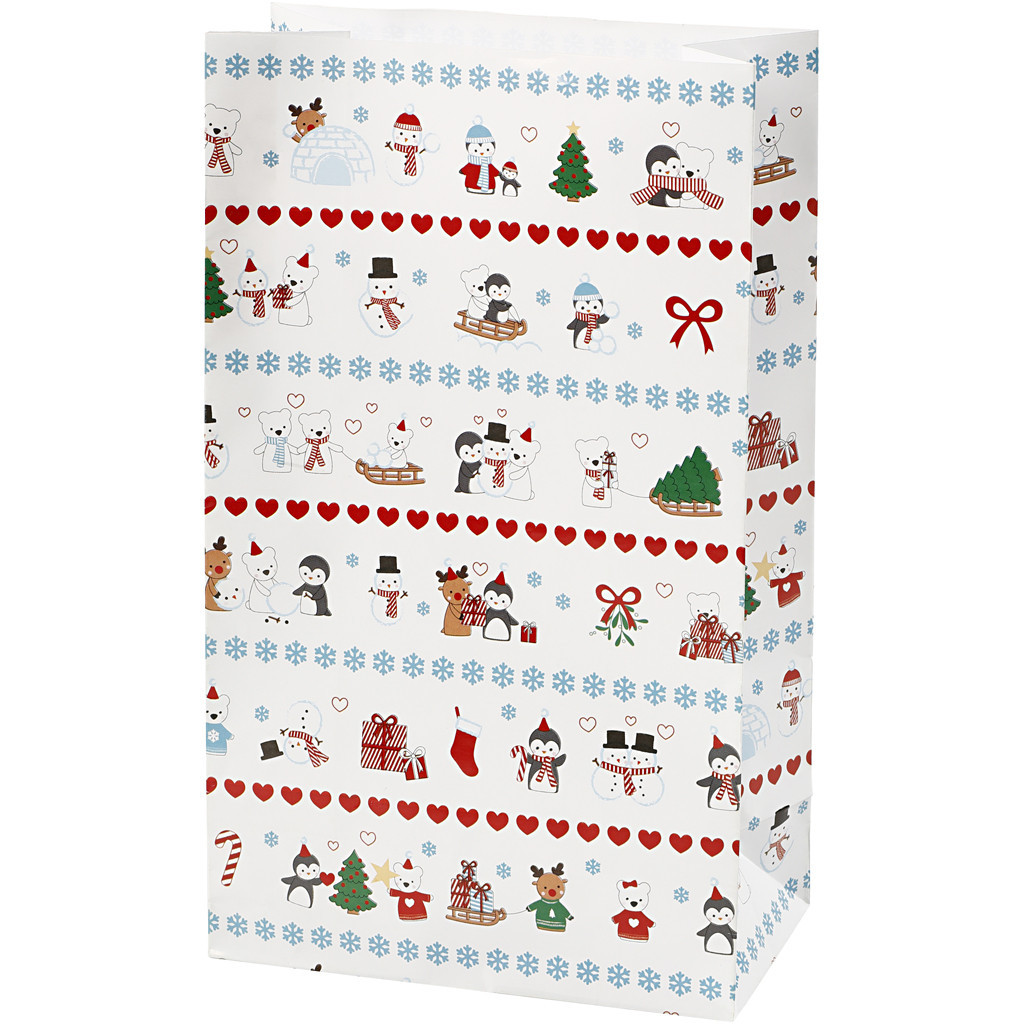 Papperspåsar Julkänsla