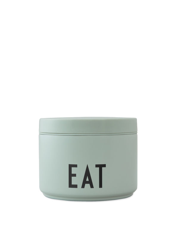Design Letters - Thermo Lunch Box Small - Green (30101005GREBLAFOOD)