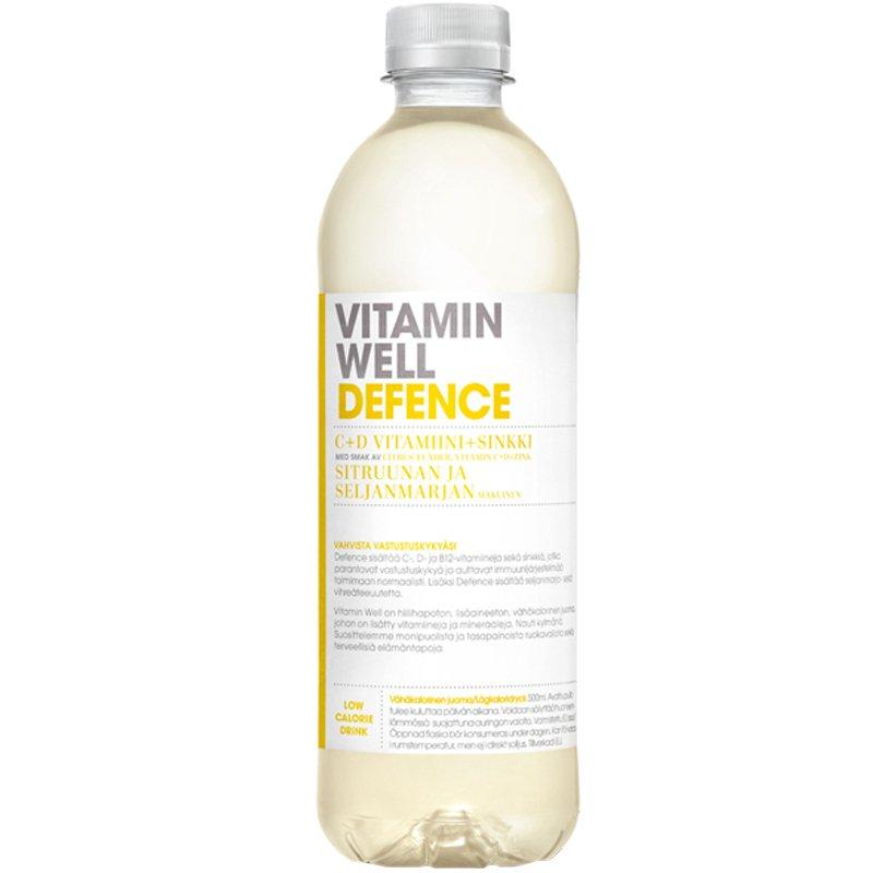 Vitamiinijuoma Sitruuna & Seljanmarja - 22% alennus