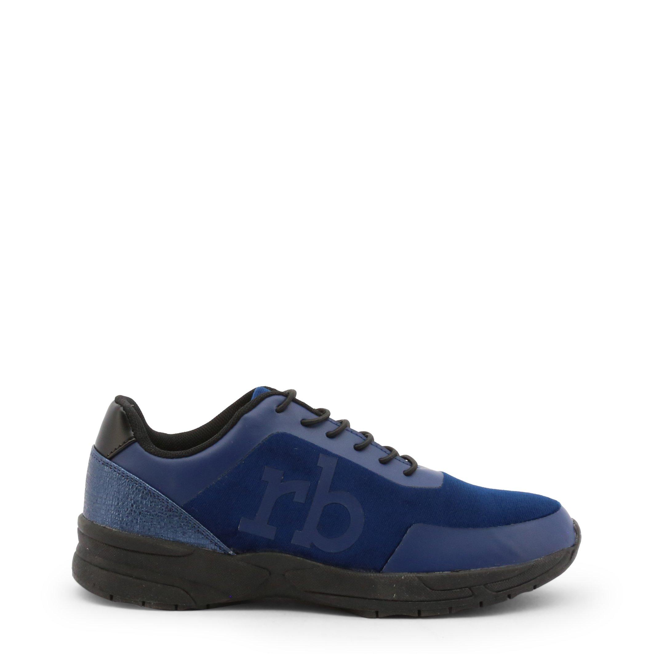 Roccobarocco Women's Sneakers Shoe Black 342955 - blue EU 37