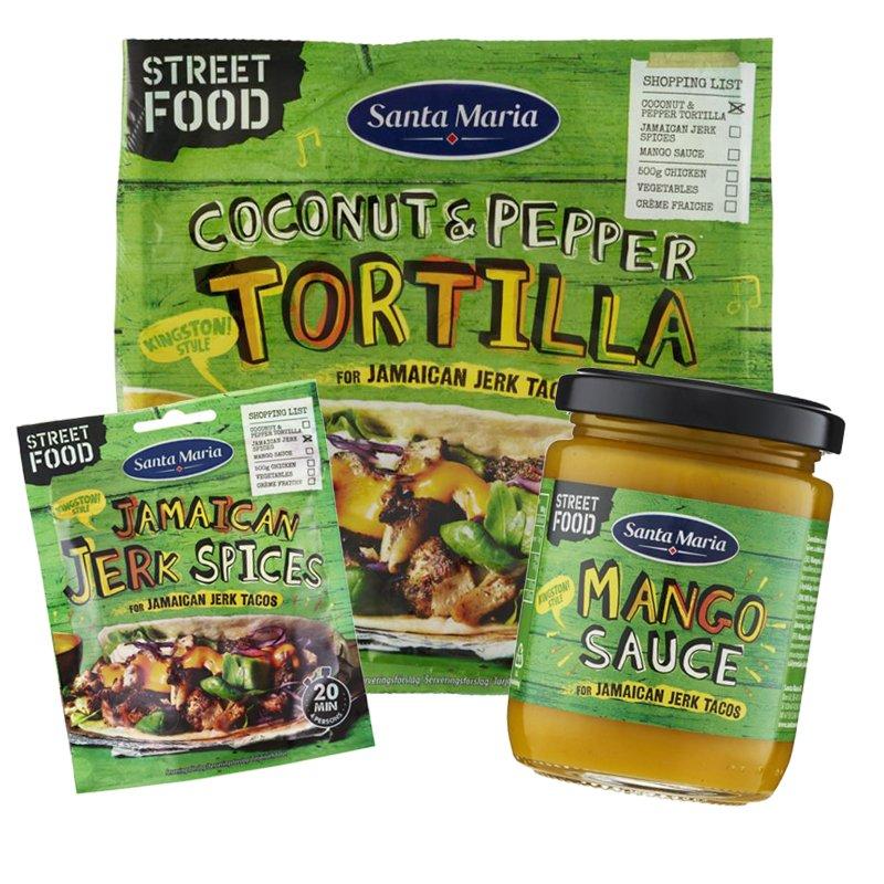 Jamaican jerk tacos! - 45% alennus