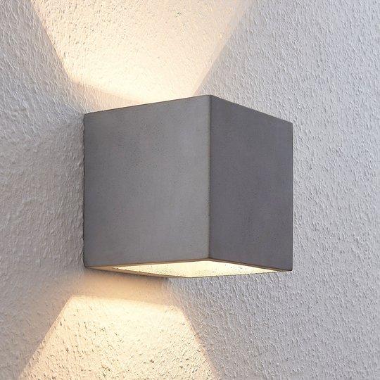 LED-seinävalaisin Keir betonista