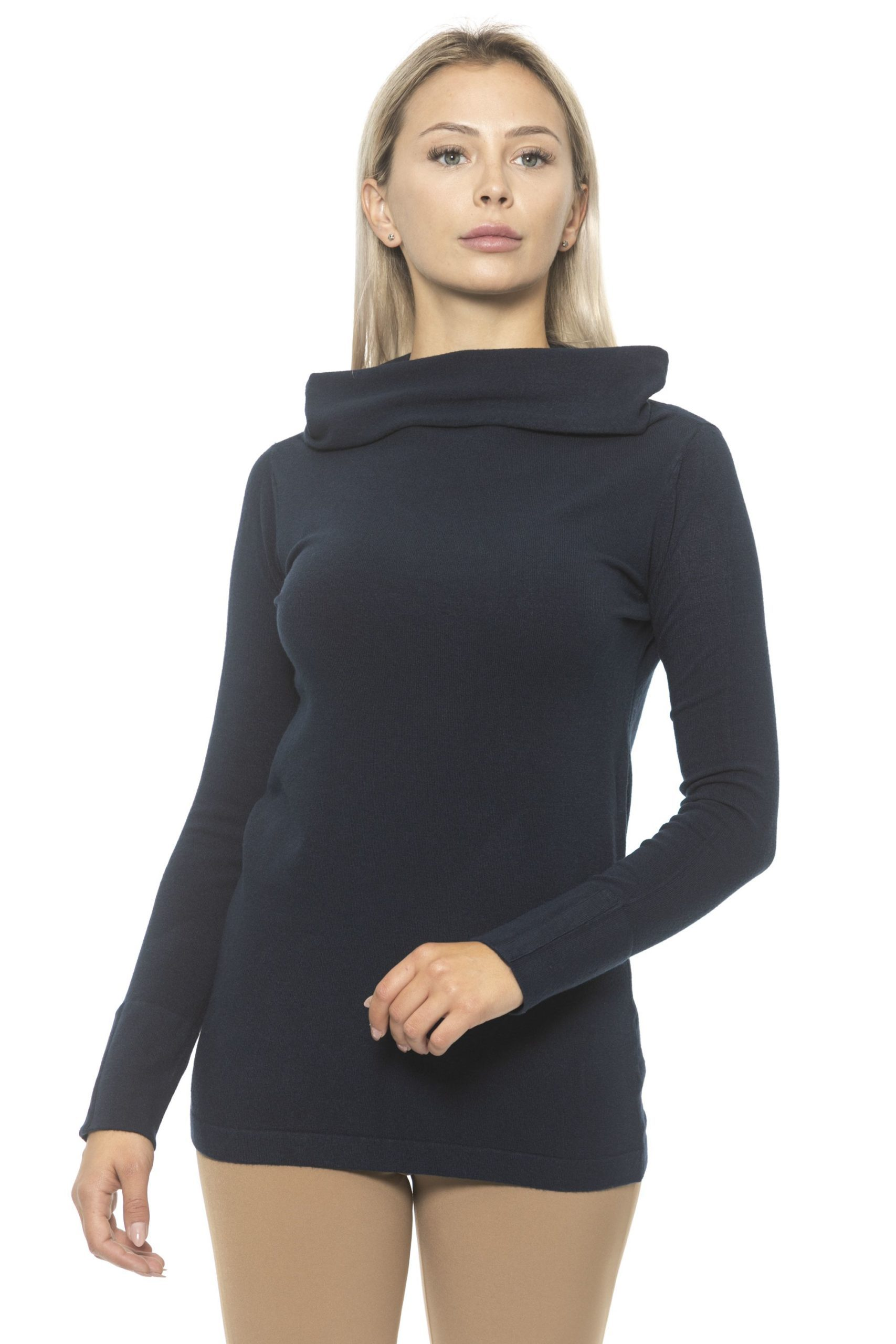 Alpha Studio Women's Sweater Blue AL1314731 - IT44 | M