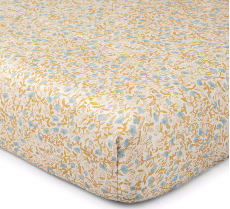 That's Mine - Bed Sheet Baby - Mini Flower Blue (SS222)
