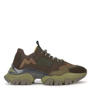 Moncler Petit Leave No Trace Sneakers Gröna 31 EU