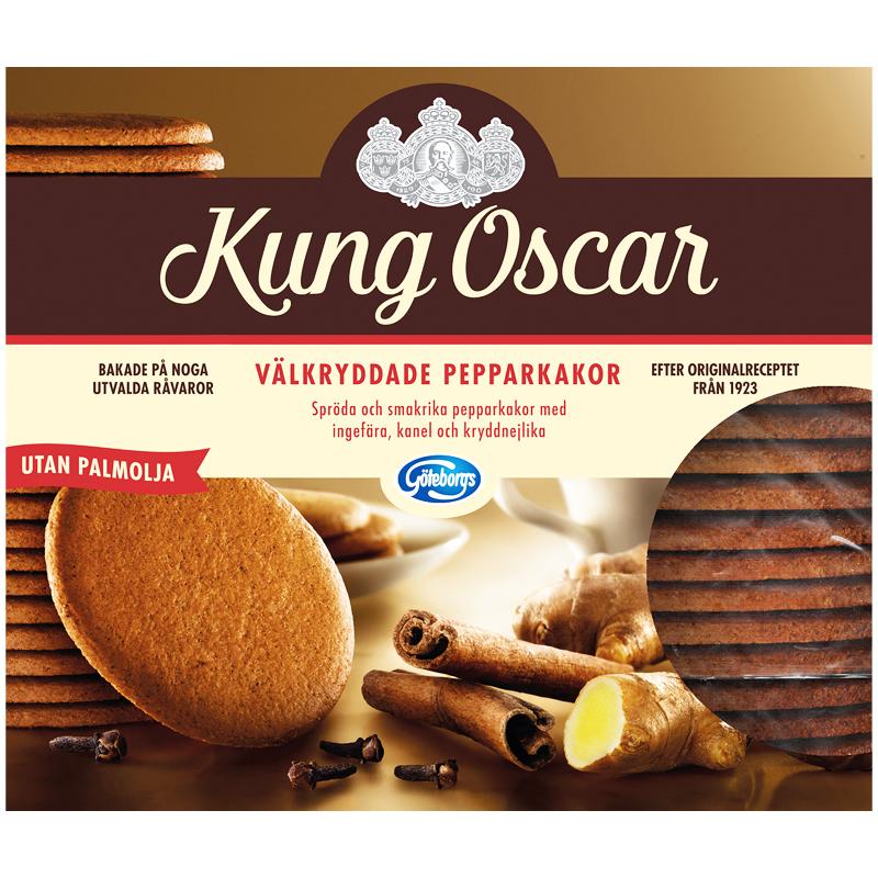 "Piparkakut ""Kung Oscar"" 300 g - 50% alennus"