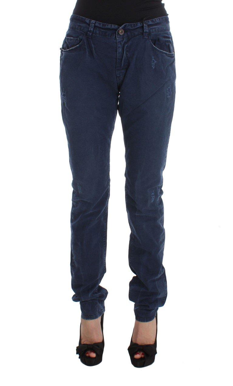 Costume National Women's Cotton Blend Denim Jeans Blue SIG30114 - W36