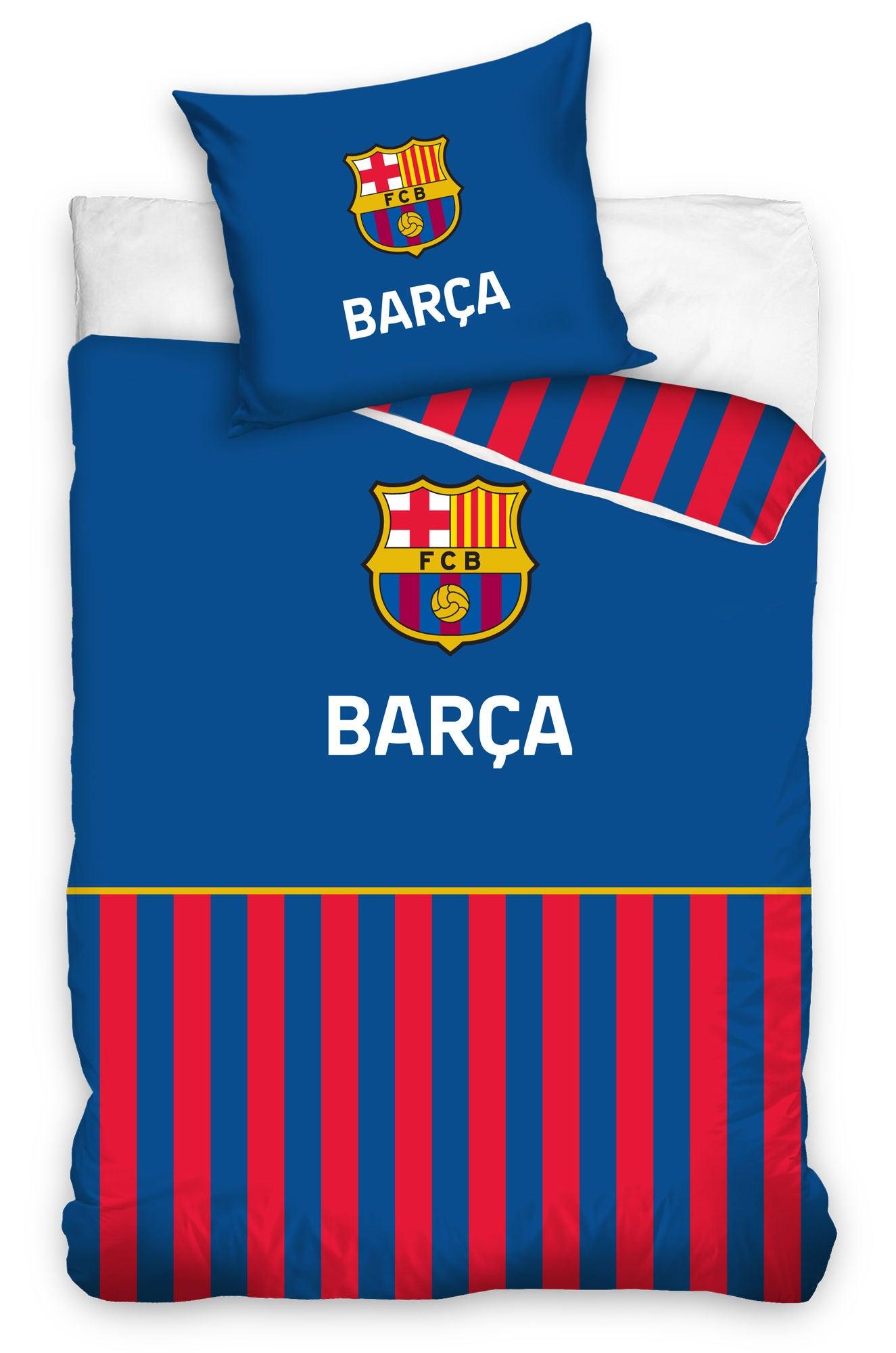 FC Barcelona Påslakanset 150x210 Blå/Röd