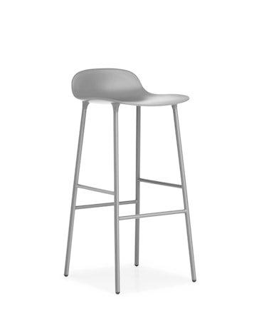 Form Barstol Grå 75 cm