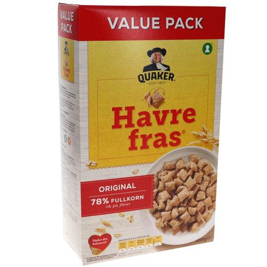 Havrefras - 22% rabatt