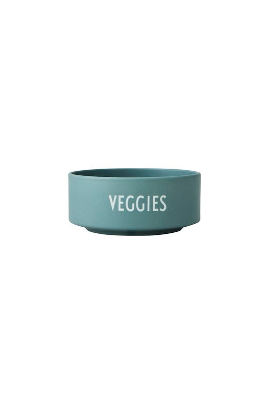 Design Letters - Snack Bowl - Dusty Green (10204010DGVEGGIES)