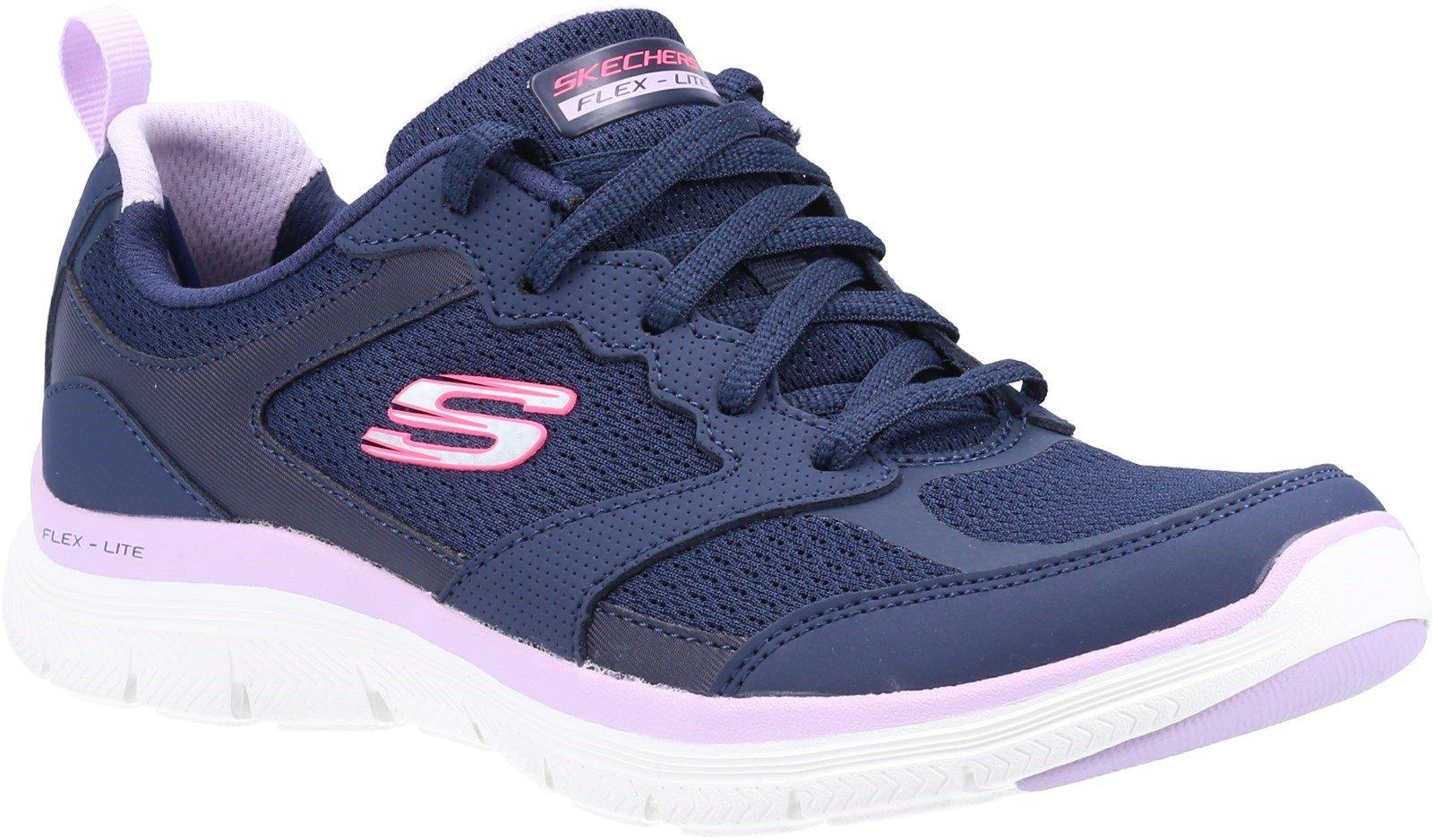 Skechers Women's Flex Appeal 4.0 Active Flow Sport Trainer Navy 32109 - Navy 3