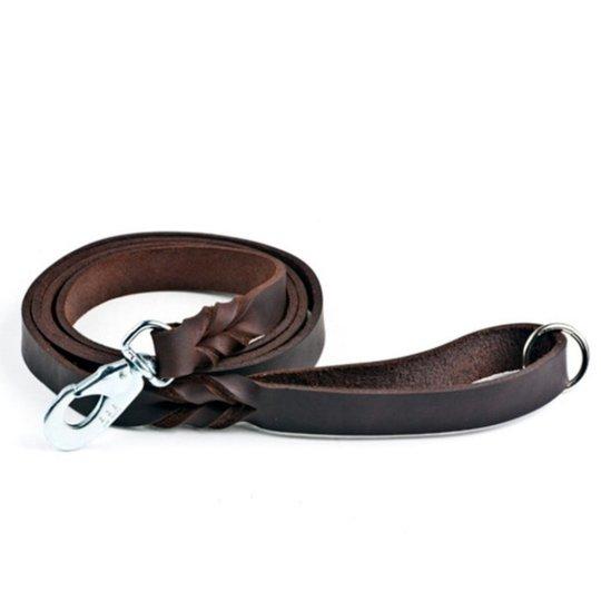 Feel Leather Braid Läderkoppel Brun (18 mm x 180 cm)