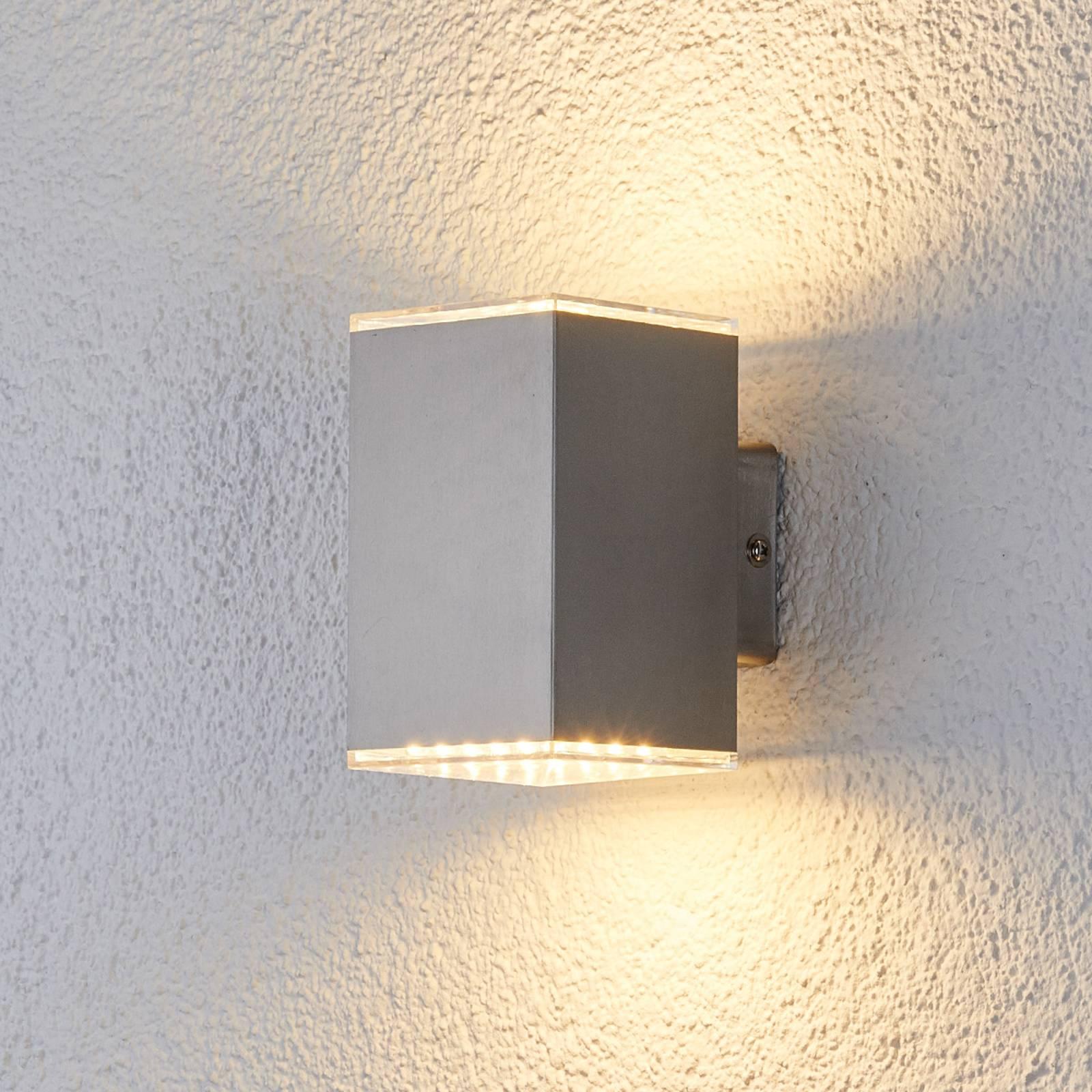 Kaksipuolisesti valaiseva LED-seinävalaisin Lydia