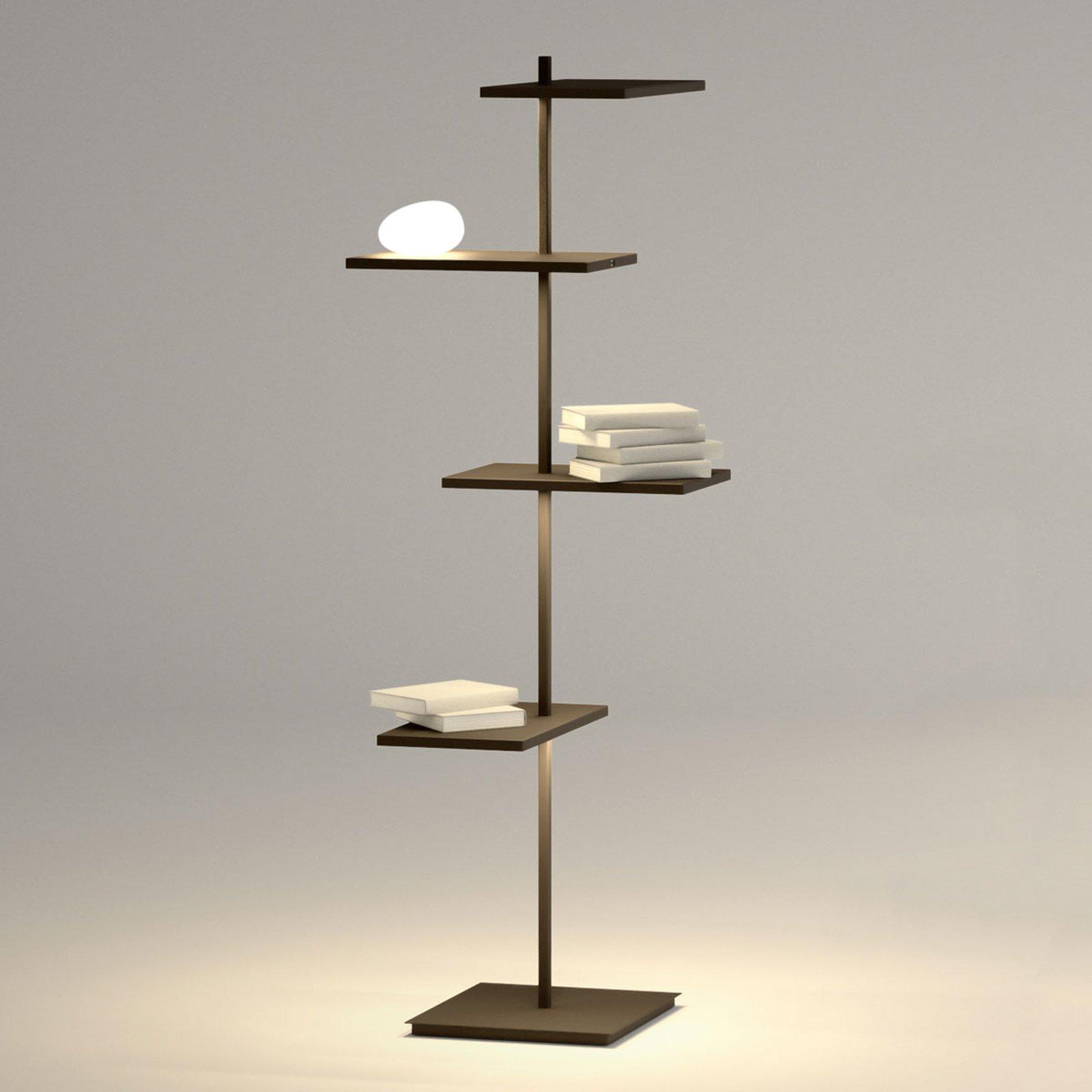 Suite flerfunksjonell LED gulvlampe 133 cm