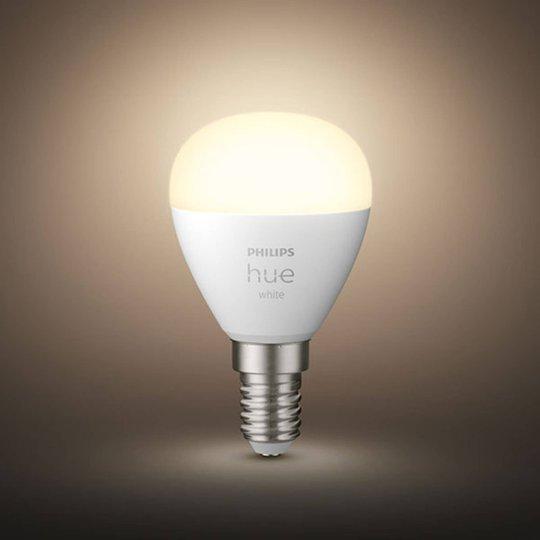 Philips Hue White LED-dråpepære E14 5,7W 2 700 K