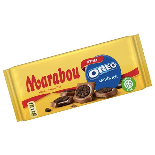Marabou Oreo Sandwich 92g