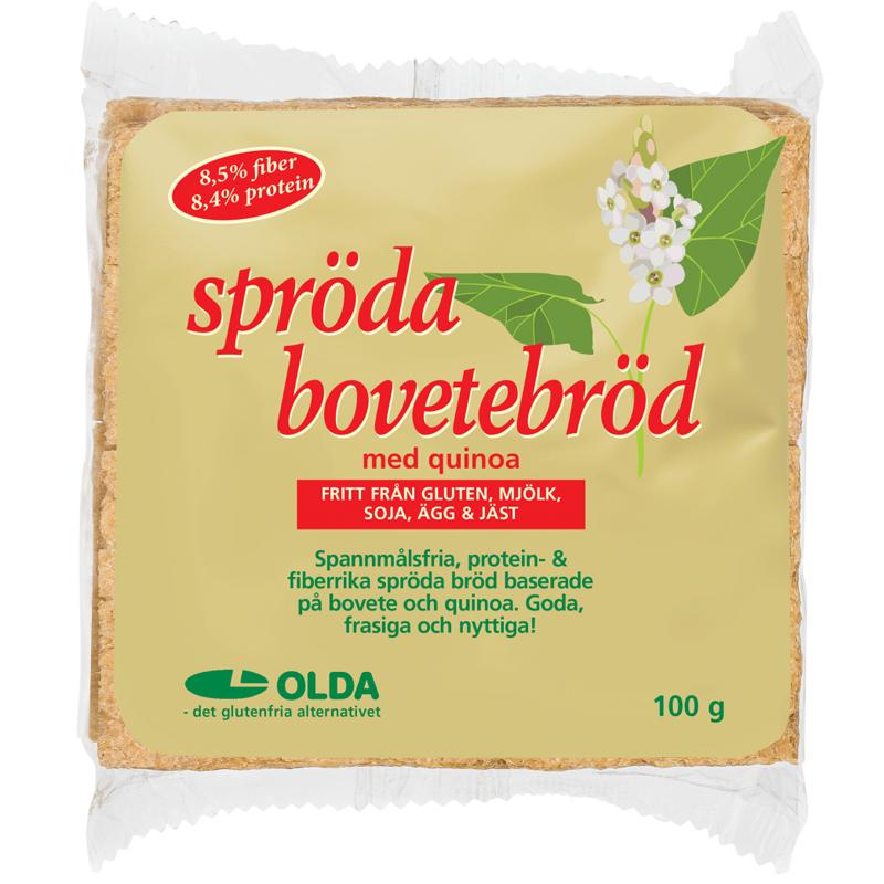 Bovetebröd Quinoa - 18% rabatt