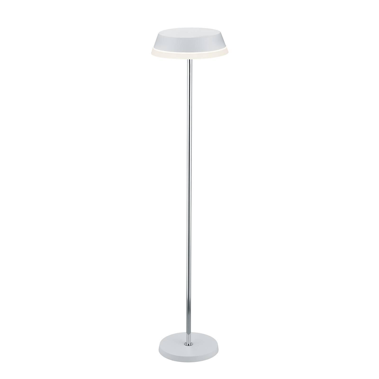 B-Leuchten Joy LED-gulvlampe med batteri hvit